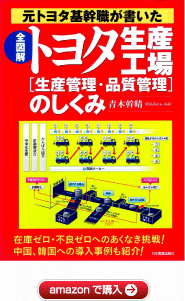"The structure of the Toyota production plants ""production control and quality control""[amazon]"